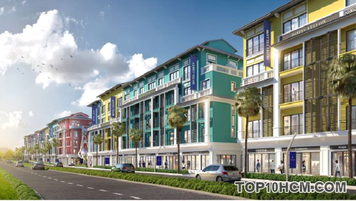 Shophouse Tổ hợp nghỉ dưỡng Sonasea Vân Đồn Harbor City