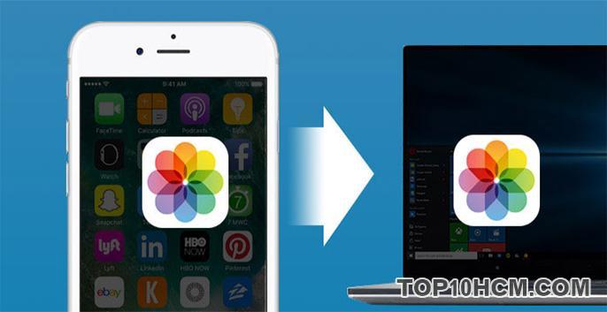 Cách copy hình ảnh từ iPhone sang máy tính đơn giản nhất