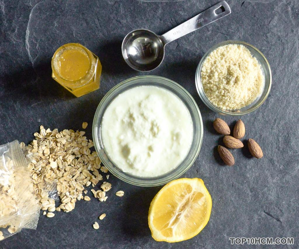 Công thức dưỡng da cho làn da đẹp với các nguyên liệu trong căn bếp