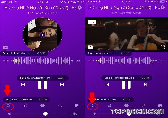Hướng dẫn nghe nhạc khi tắt màn hình điện thoại