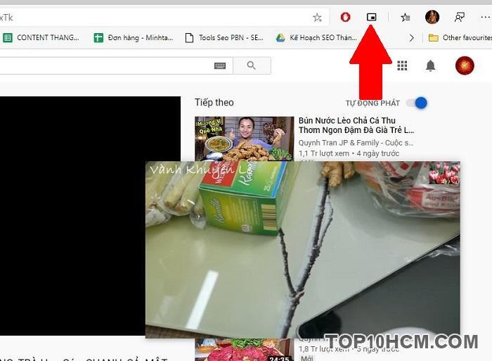 Xem video Youtbe cửa sổ nổi trên Microsoft Edge Chromium