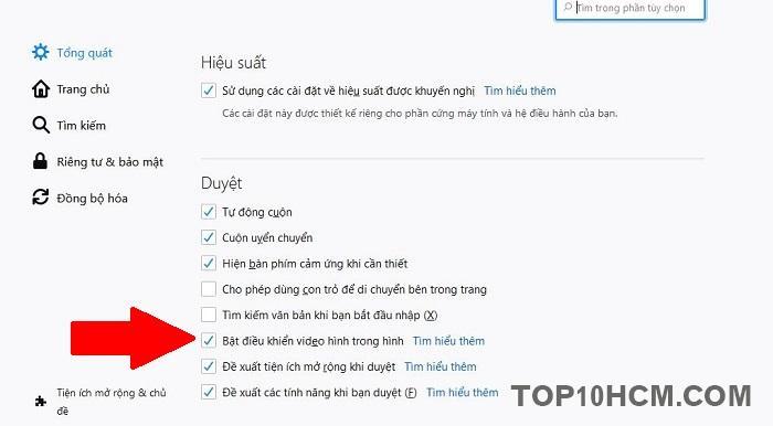 Xem video Youtbe cửa sổ nổi trên Mozilla FireFox