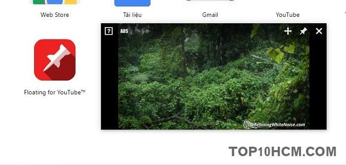 Xem video Youtbe cửa sổ nổi trên Chrome