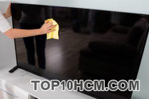 Cách vệ sinh tivi màn hình phẳng
