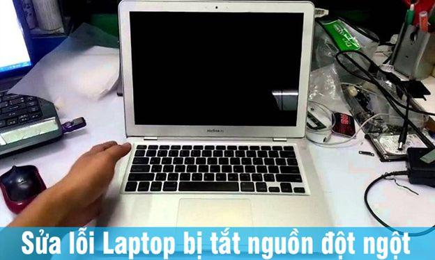 Tại Sao Laptop bị sập nguồn đột ngột không bật lên được ?