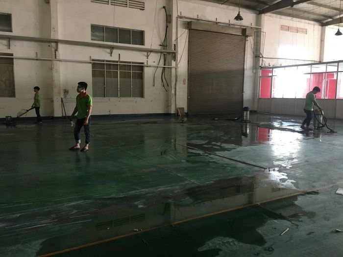 Vệ sinh công nghiệp Bắc Tân Uyên