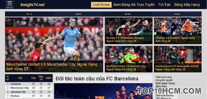Top các website cập nhật tin bóng đá nhanh nhất