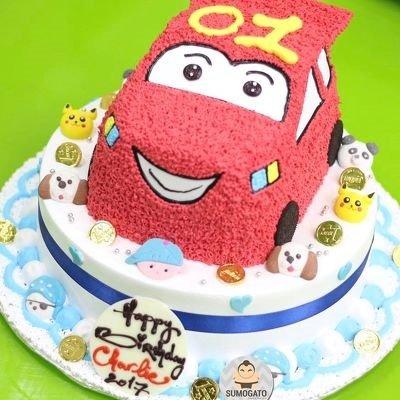 5+ Ý tưởng bánh sinh nhật ô tô khiến các bé trai thích mê
