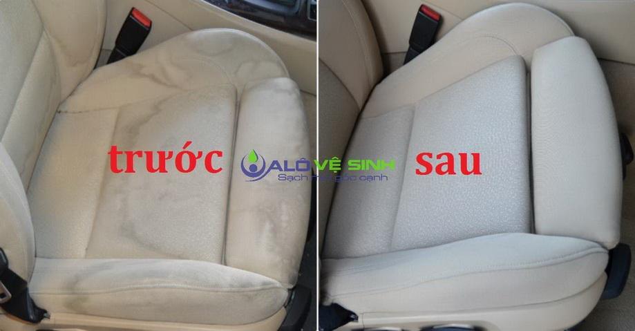 Alo Vệ Sinh giặt ghế ô tô sạch khuẩn tại TPHCM