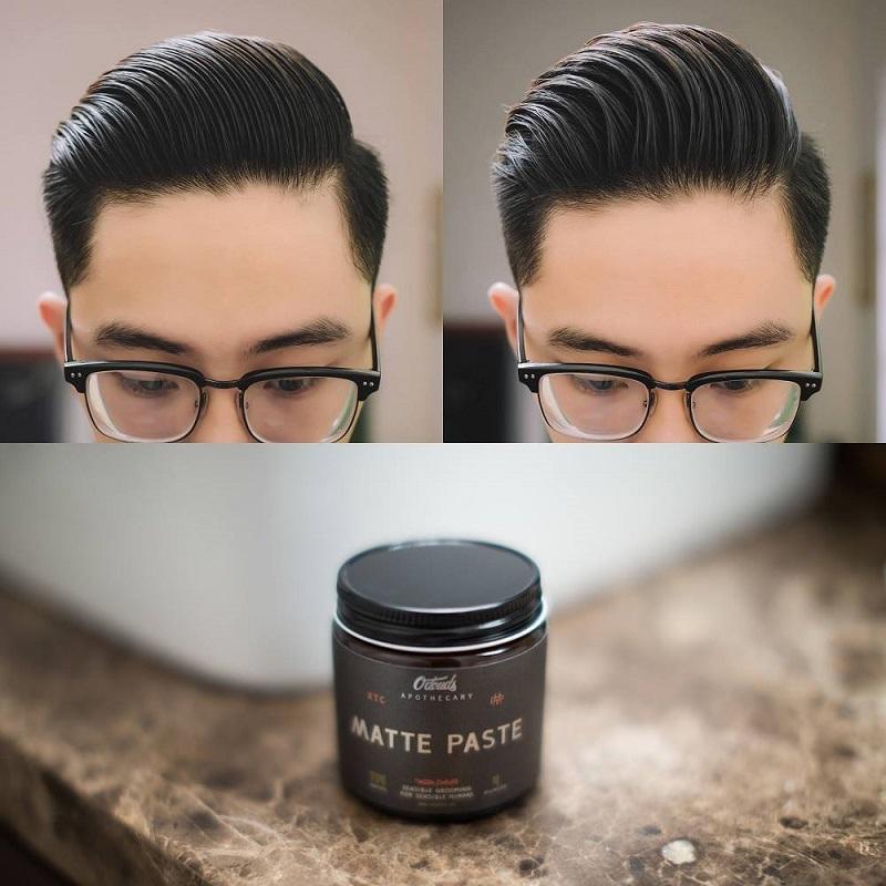 Dưỡng ẩm cho tóc và da đầu với sáp vuốt tóc cao cấp matte paste