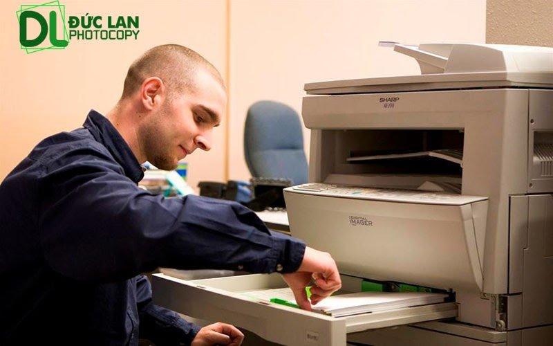 Cách khắc phục lỗi máy photocopy Ricoh bị kẹt giấy