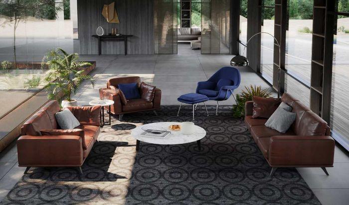 Top 7 mẫu ghế sofa da bò nhập khẩu Italia được yêu thích hiện nay