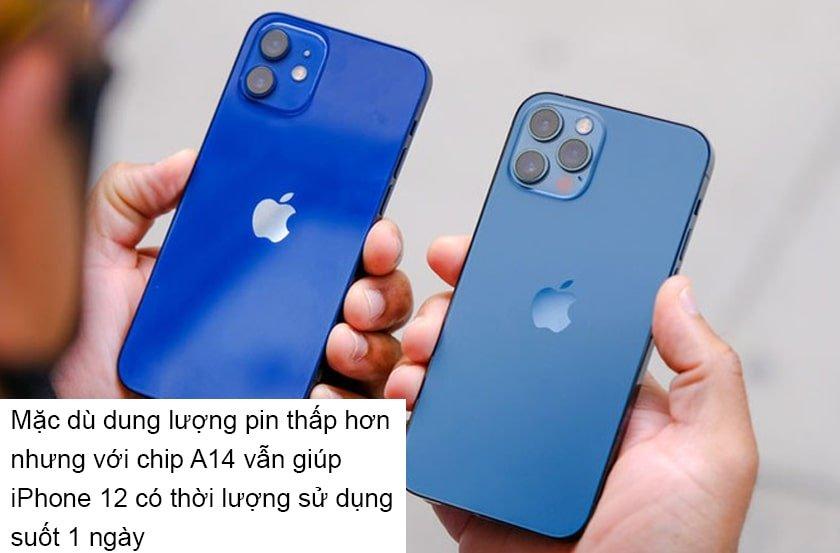 Đánh giá chi tiết pin iPhone 12 Series