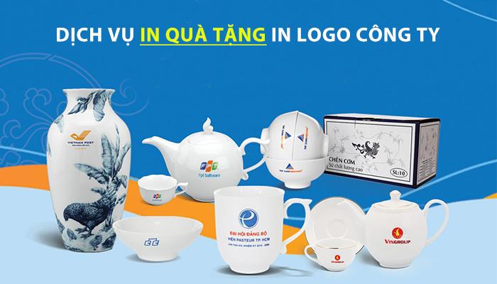 Dịch vụ in logo giá rẻ tại TPHCM & Hà Nội