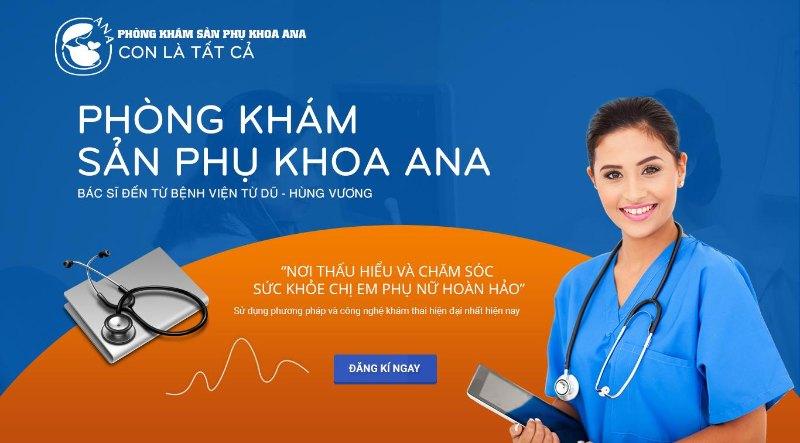 Phòng khám Ana chuyên siêu âm thai ở quận Bình Tân