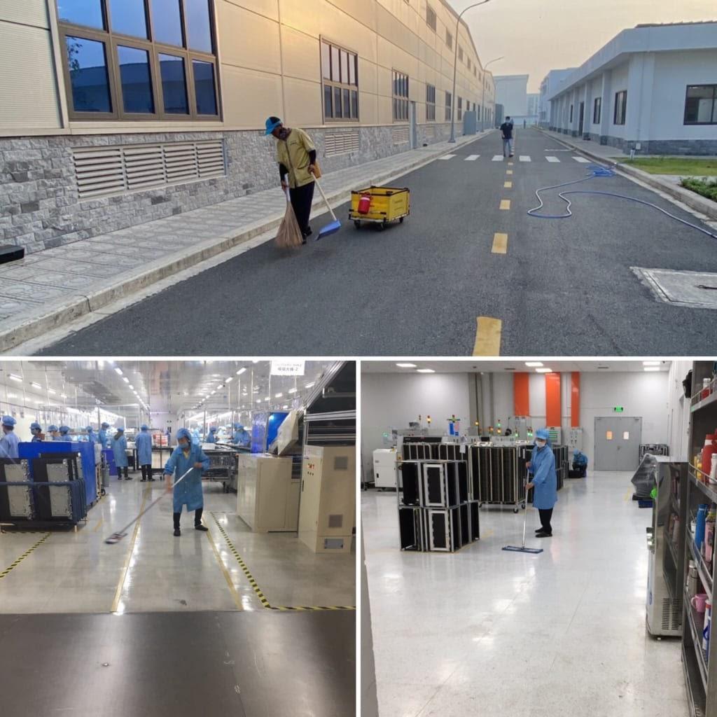 Home Services - Dịch vụ vệ sinh công nghiệp tại Bình Dương uy tín