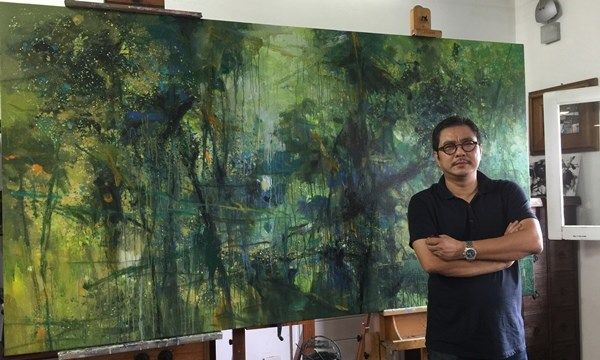 Top họa sĩ tranh trừu tượng nổi tiếng Việt Nam