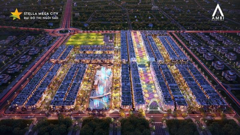 Stella Mega City The Ambi nghệ thuật ánh sang tại Cần Thơ