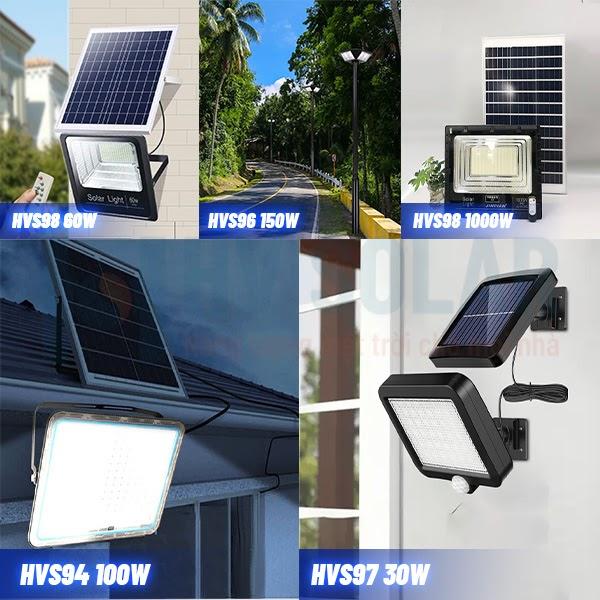 """""""Bật ngửa"""" với Top 4 đèn led pha năng lượng mặt trời có giá tốt nhất thị trường tại HV Solar"""