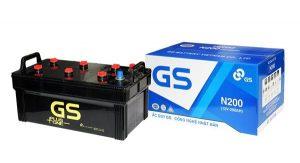 Ưu điểm và tác dụng của ắc quy GS N200