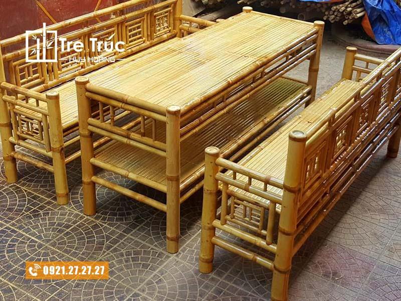 Địa chỉ cung cấp bàn ghế tre trúc uy tín chất lượng tại TPHCM