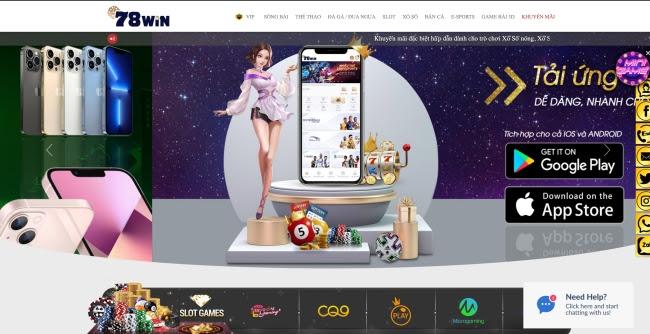 Thiên đường game 78WIN, cổng game giải trí hấp dẫn nhất hiện nay